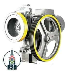 قیمت موتور آسانسور الکو 5.5kw NR12