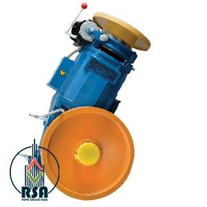 موتور آسانسور ساسی مونتاژ 9.2 کیلووات