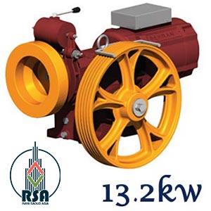 موتور آسانسور بهران 13.2کیلووات