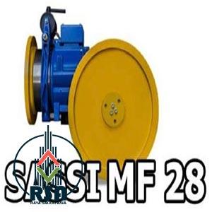 موتور آسانسور ساسی مونتاژ mf28