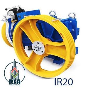قیمت موتور آسانسور کوپل IR20