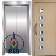 ابعاد درب آسانسور