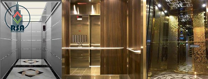 انتخاب مدل های کابین آسانسور