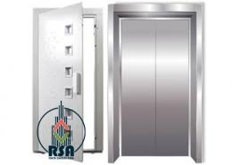 سازنده درب آسانسور