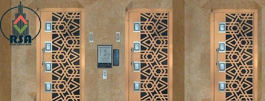 درب آسانسور لولایی کد6035