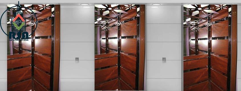 کابین آسانسور ام دی اف کد428