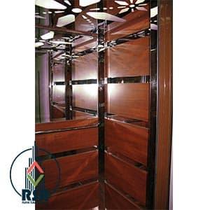 قیمت کابین آسانسور ام دی اف کد428