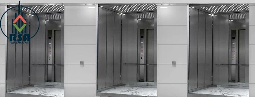 کابین آسانسور استیل کد328