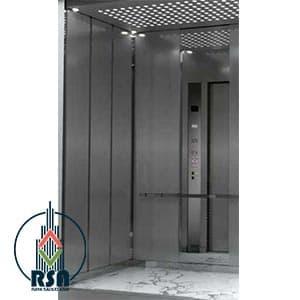 قیمت کابین آسانسور استیل کد328