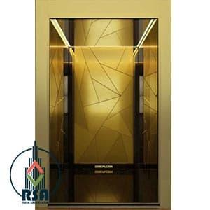 قیمت کابین آسانسور استیل کد3504