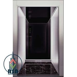 قیمت کابین آسانسور استیل کد3506