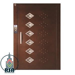 درب آسانسور لولایی